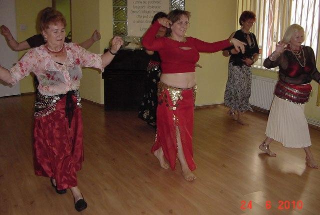 Podsumowanie roku tanecznego u Agatek - 2008-2010