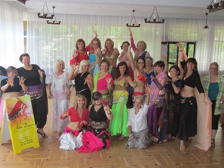 IV Obóz tańca brzucha - lipiec 2015